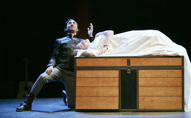 "Dress rehearsal of Theatre for a New Audience's ""Cymbeline"""